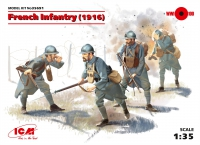 Сборная модель Пехота Франции (1916 г.)