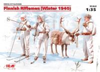 Сборная модель Финские пехотинцы (зима 1940 г.)