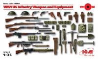 Сборная модель Оружие и снаряжение пехоты США І МВ