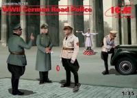 Сборная модель Германская дорожная полиция II МВ (5 фигур)