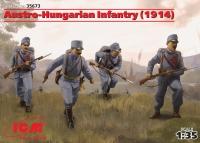 Сборная модель Пехота Австро-Венгрии (1914г.) (4 фигуры)