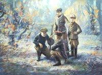 Сборная модель Советские партизаны ІІ МВ