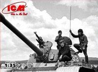 Модель Советский танковый экипаж