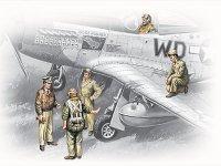 Модель Пилоты и техники ВВС США (1941-1945)