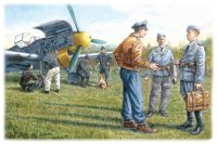 Сборная модель Наземный персонал ВВС Германии (1939-1945)