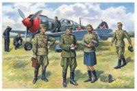 Модель Пилоты и техники ВВС СССР (1943-1945)