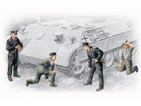 Сборная модель Германский танковый экипаж (1943-1945)