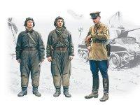 Сборная модель Советский танковый экипаж (1939-1942)