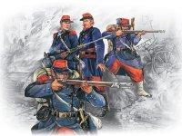 Сборная модель Французская линейная пехота (1870-1871)