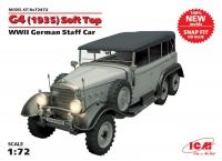 Сборная модель G4 ( 1935 г.) с тентом, Германский автомобиль ІІ МВ