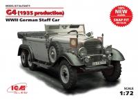 Сборная модель G4 (производства 1935 г.), Германский автомобиль ІІ МВ