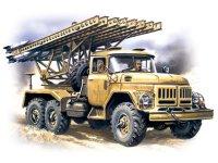 Сборная модель БМ-13-16