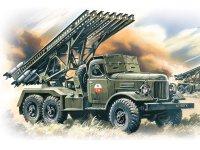 Сборная модель БM-13-16