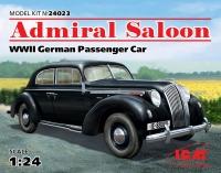 Модель Admiral седан, Германский пассажирский автомобиль II MB