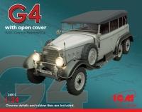 Сборная модель Typ G4 с раскрытым тентом, Германский пассажирский автомобил