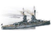 """Модель """"Kunig"""" - Германский линейный корабль I МВ"""