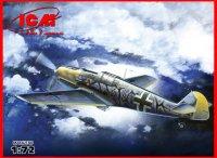 Сборная модель Bf 109E-7/B Германский истребитель-бомбардировщик II МВ