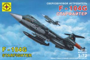 Модель сверхзвуковой истребитель F-104G