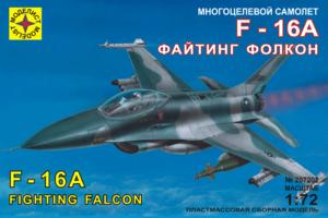 Модель многоцелевой самолет F-16A