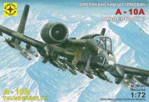 Модель штурмовик A-10А