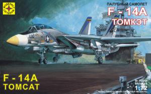 Модель палубный самолет F-14A