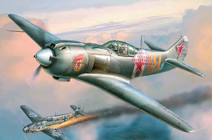 Модель Советский истребитель Ла-5 ФН