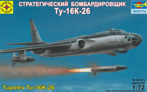 Модель Ту-16К-26