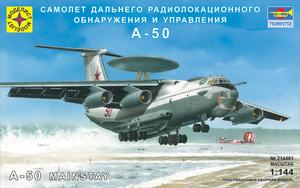 Сборная модель Самолет дальнего радиолокационного обнаружения и управления