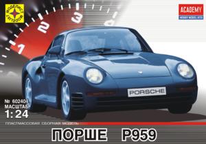 Сборная модель Порше P959