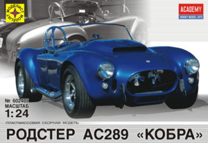 автомобиль родстер АС289