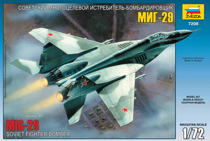Сборная модель Советский истребитель МиГ-29