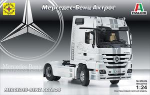 Сборная модель МЕРСЕДЕС-БЕНЦ Актрос (1:24)