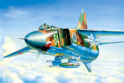 Сборная модель МиГ-23 МЛД
