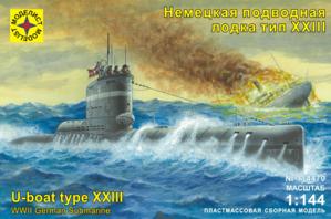 Сборная модель Немецкая подводная лодка тип XXIII