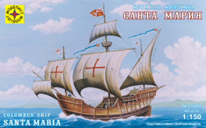 Модель корабль Колумба