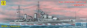 Сборная модель английский крейсер