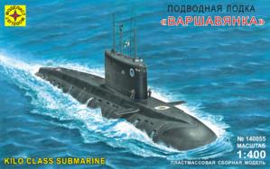 Сборная модель подводная лодка