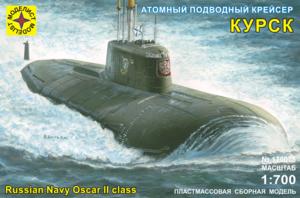 Сборная модель атомный подводный крейсер