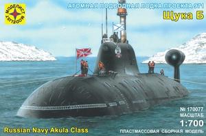 Сборная модель подводная лодка проекта 971