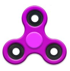 Спиннер  фиолетовый - Fidget Spinner