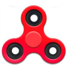 Спиннер Красный - Fidget Spinner