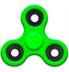 Спиннер Зелёный - Fidget Spinner