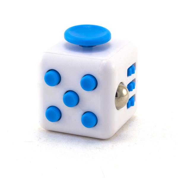 Белый Анти-стресс куб