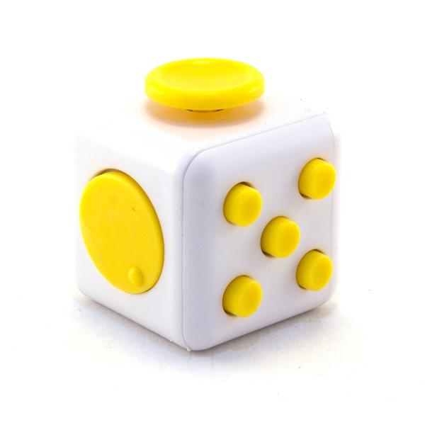 Желтый Анти-стресс куб