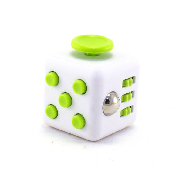 Зеленый Анти-стресс куб