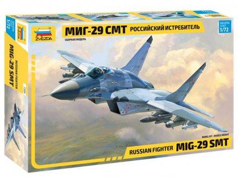 Сборная модель Многоцелевой фронтовой истребитель МиГ-29 СМТ