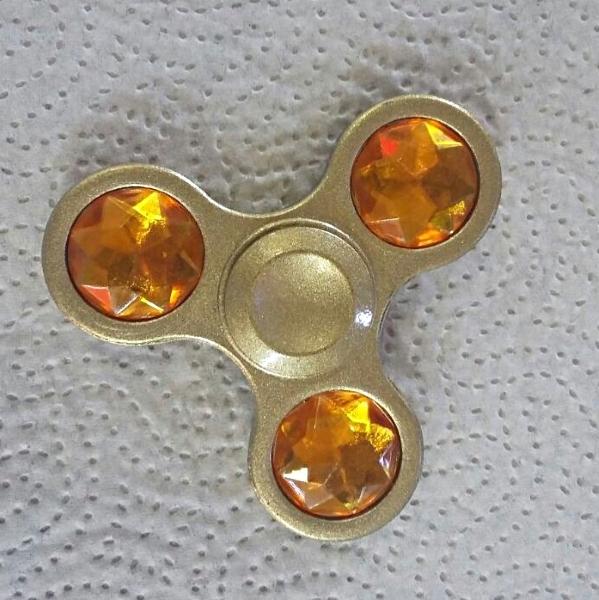 Янтарно-золотистый спиннер