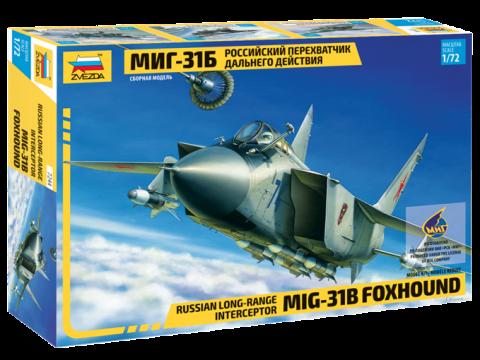 Сборная модель Перехватчик дальнего действия МиГ-31Б