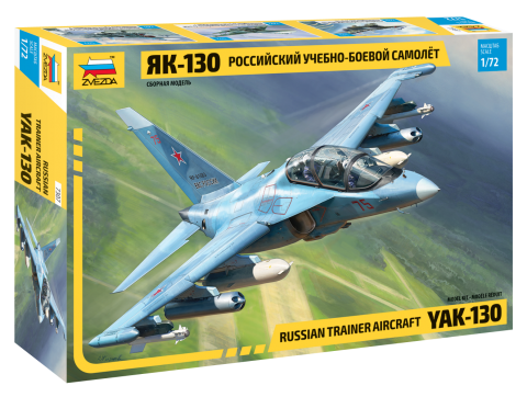 Сборная модель Российский самолет Як-130