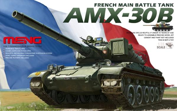Модель Meng 1/35 AMX 30B Французский Основной Боевой Танк